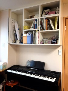 練習用ピアノ