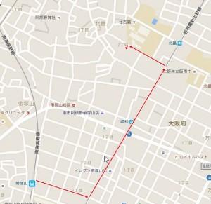 南海電鉄 帝塚山駅からのアクセス