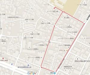 姫松駅からのアクセス